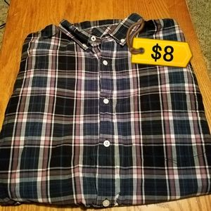 Men's Aeropostale long sleeve button down
